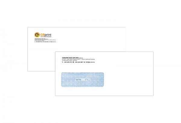 Window Envelope Envelope Kuala Lumpur (KL), Malaysia, Selangor, Kepong Supplier, Suppliers, Supply, Supplies | Genuine Bliss Sdn Bhd