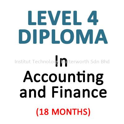 In Accounting and Finance Level 4 LCCI Diploma Penang, Malaysia, Bukit Mertajam Courses, Lessons, Classes | Institut Teknologi Butterworth Sdn Bhd
