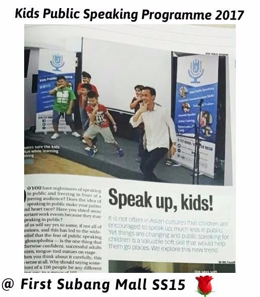 Kids Public Speaking by Johan Speaking Academy On-going Events Event Space Selangor, Subang Jaya, Malaysia, Kuala Lumpur (KL) Provider, Rental, Venue, Package | Innovation Resources