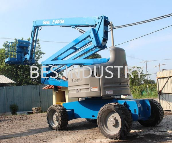 Boom Lift Rental FZ-60/34 Articulating Boom Lift Boom Lift Rental Malaysia, Selangor, Kuala Lumpur (KL), Klang Rental, For Rent, Services, Supplier | Bes Industry & Trading Sdn Bhd