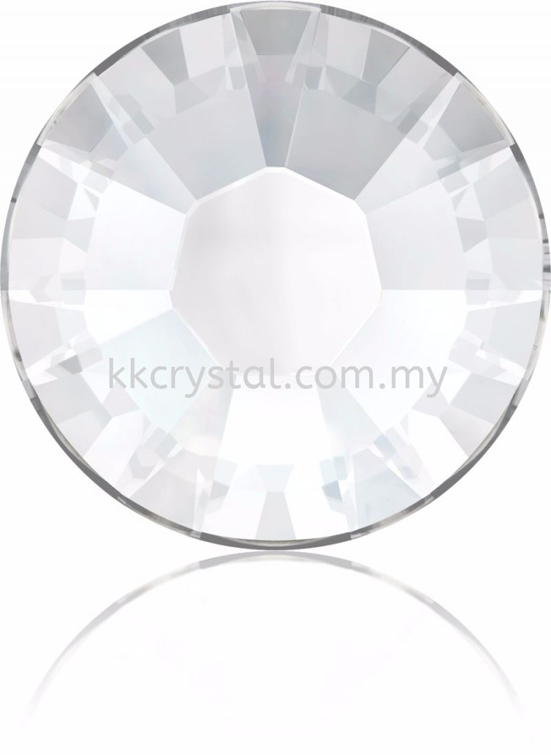 Swarovski Flat Backs Hotfix, 2038 SS10, Crystal A HF (001)