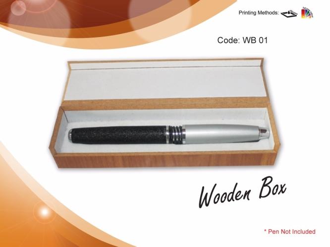 Pen Case WB 01- Wooden Box