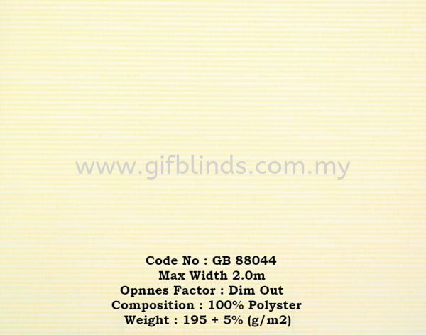 Dim Out Roller Blinds Sample G88044 Dim Out Roller Blinds Sample GB88041-047 Roller Blinds Johor Bahru, JB, Johor, Malaysia. Supplier, Suppliers, Supplies, Supply | GIF Blinds (M) Sdn Bhd
