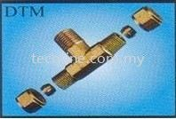 Compression Male Branch Tee Brass Fitting Fittings Selangor, Malaysia, Kuala Lumpur (KL), Puchong Supplier, Suppliers, Supply, Supplies | Tecoline Sdn Bhd