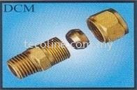 Compression Male Connector Brass Fitting Fittings Selangor, Malaysia, Kuala Lumpur (KL), Puchong Supplier, Suppliers, Supply, Supplies   Tecoline Sdn Bhd