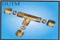 Compression Union Tee Brass Fitting Fittings Selangor, Malaysia, Kuala Lumpur (KL), Puchong Supplier, Suppliers, Supply, Supplies | Tecoline Sdn Bhd