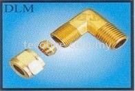 Compression Male Elbow Brass Fitting Fittings Selangor, Malaysia, Kuala Lumpur (KL), Puchong Supplier, Suppliers, Supply, Supplies | Tecoline Sdn Bhd