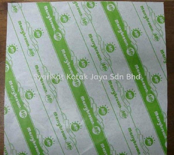 Paper Foil Paper Foil Burger Wrapper Kuala Lumpur (KL), Malaysia, Selangor, Sungai Besi Supplier, Suppliers, Supply, Supplies | Syarikat Kotak Jaya Sdn Bhd