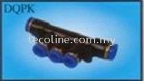 Connector-Different Multiple Distributor One Touch/Push-In Fittings Selangor, Malaysia, Kuala Lumpur (KL), Puchong Supplier, Suppliers, Supply, Supplies | Tecoline Sdn Bhd