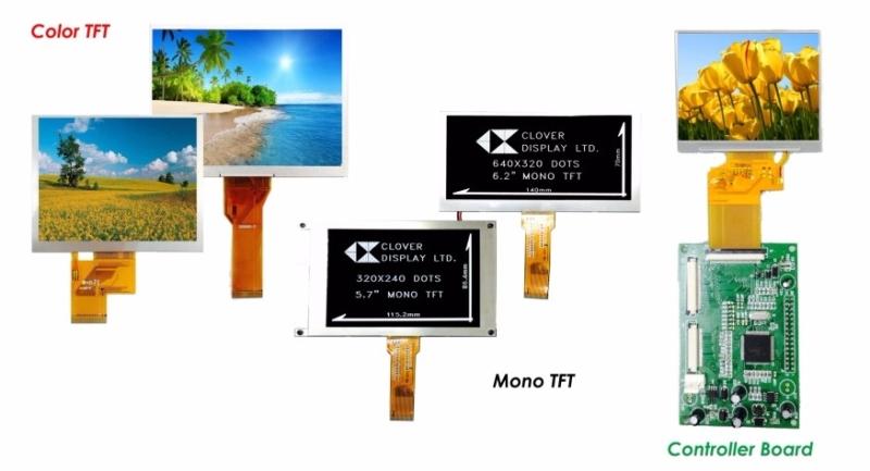 TFT Display TFT Display Clover Display Selangor, Penang, Malaysia, Kuala Lumpur (KL), Petaling Jaya (PJ), Butterworth Supplier, Suppliers, Supply, Supplies | MOBICON-REMOTE ELECTRONIC SDN BHD
