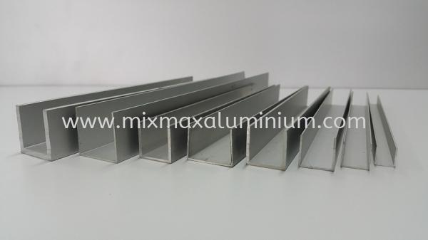 Aluminium U-Channel Selangor, Malaysia, Kuala Lumpur (KL), Seri Kembangan Supplier, Suppliers, Supply, Supplies   Mix Max Aluminium & Accessories Sdn Bhd