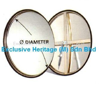 """STAINLESS STEEL INDOOR CONVEX MIRROR 600MM """"24INCH."""" STAINLESS STEEL CONVEX MIRROR Selangor, Seri Kembangan, Malaysia supplier 