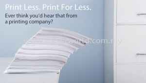 4 Ways to Print Less and Save More