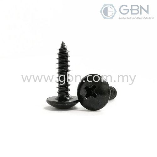 Truss Head Philips Self Tapping Screw  Self Tapping Screws Screws Johor Bahru (JB), Malaysia, Johor Jaya Supplier, Suppliers, Supply, Supplies | Global Bolts And Nuts Sdn Bhd