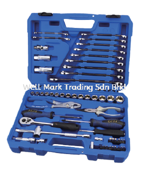 56Pc Auto Pit Shop Tool Set Auto Repair Tool Professional Hardware Tools Selangor, Malaysia, Kuala Lumpur (KL), Shah Alam Supplier, Suppliers, Supply, Supplies | Well Mark Trading Sdn Bhd