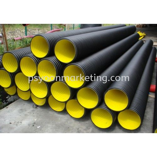 HDPE Corrugated Sewer Pipes PE Drainage & Sewerage Kuala Lumpur (KL), Malaysia, Selangor Supplier, Suppliers, Supply, Supplies | PS YOON Marketing Sdn Bhd