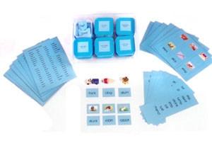 Reading Kit 2 (Blue Scheme) (LM050) Language Kuala Lumpur (KL), Malaysia, Selangor, Cheras Montessori, Materials, Supplier, Supply | D'Argosy Educational Equipment (M) Sdn Bhd