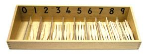 Spindle Box + Spindles (MM040-A) Mathematics Kuala Lumpur (KL), Malaysia, Selangor, Cheras Montessori, Materials, Supplier, Supply | D'Argosy Educational Equipment (M) Sdn Bhd