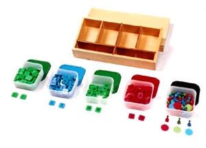 Stamp Game with Wooden Box (MM110-S) Mathematics Kuala Lumpur (KL), Malaysia, Selangor, Cheras Montessori, Materials, Supplier, Supply | D'Argosy Educational Equipment (M) Sdn Bhd