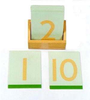 Sandpaper Numerals (Wooden) + Box (MM010-W) Mathematics Kuala Lumpur (KL), Malaysia, Selangor, Cheras Montessori, Materials, Supplier, Supply | D'Argosy Educational Equipment (M) Sdn Bhd