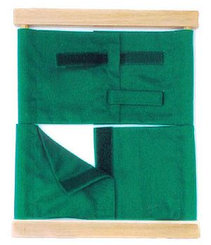 Velcro Closure Frame (PL100-I) Practical Life Kuala Lumpur (KL), Malaysia, Selangor, Cheras Montessori, Materials, Supplier, Supply | D'Argosy Educational Equipment (M) Sdn Bhd