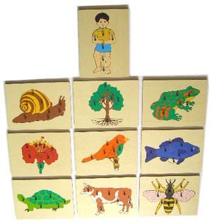 Nature Puzzles (CM140) Puzzles Kuala Lumpur (KL), Malaysia, Selangor, Cheras Montessori, Materials, Supplier, Supply | D'Argosy Educational Equipment (M) Sdn Bhd