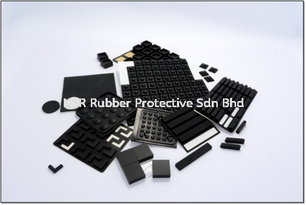 Rubber Footing with Adhesive Backed Rubber Footings with Adhesive Backed Malaysia, Kedah, Sungai Petani Rubber, Manufacturer, Supplier, Supply   NSR Rubber Protective Sdn Bhd
