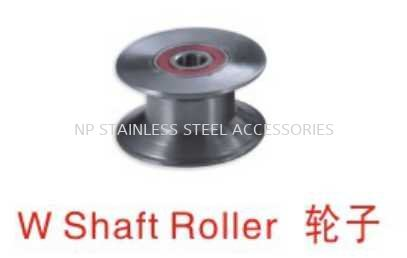 W Shaft Roller 轮子 Door Bearing & Accessories 大门配件 Johor Bahru (JB), Malaysia, Kluang Supplier, Suppliers, Supply, Supplies | NP Stainless Steel Accessories