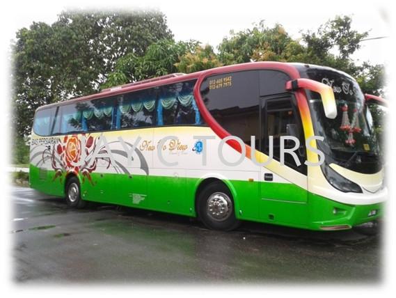 44 Seater Tour Coach Tour Bus Selangor, Malaysia, Kuala Lumpur (KL), Klang Services, Rental | Jay C Tours Sdn Bhd