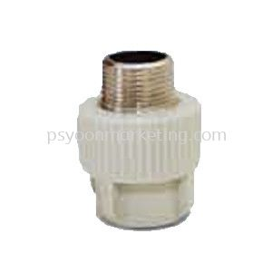 Threaded Male Coupling Transition Fittings PP-R Hot & Cold Water Kuala Lumpur (KL), Malaysia, Selangor Supplier, Suppliers, Supply, Supplies | PS YOON Marketing Sdn Bhd