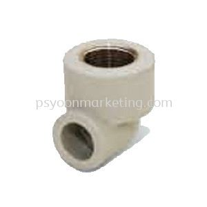 Threaded Female Elbow 90бу Transition Fittings PP-R Hot & Cold Water Kuala Lumpur (KL), Malaysia, Selangor Supplier, Suppliers, Supply, Supplies | PS YOON Marketing Sdn Bhd