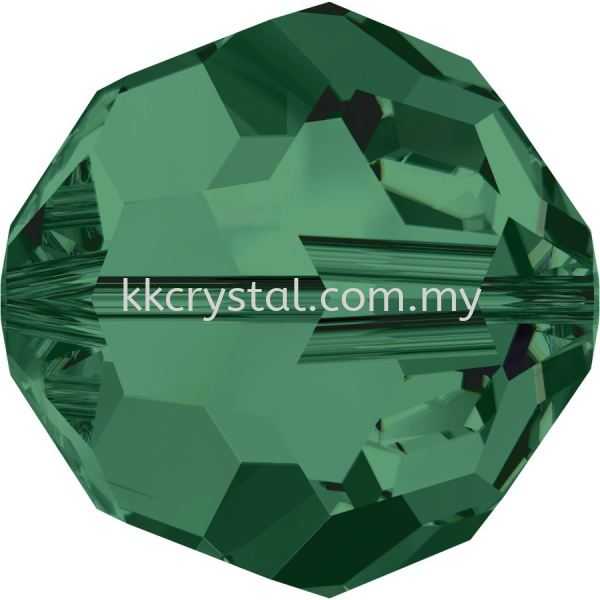 SW 5000 Round Beads, 10mm, Emerald (205), 2pcs/pack 5000 ROUND BEAD, 10mm  Beads  SW Crystal Collections  Kuala Lumpur (KL), Malaysia, Selangor, Klang, Kepong Wholesaler, Supplier, Supply, Supplies | K&K Crystal Sdn Bhd