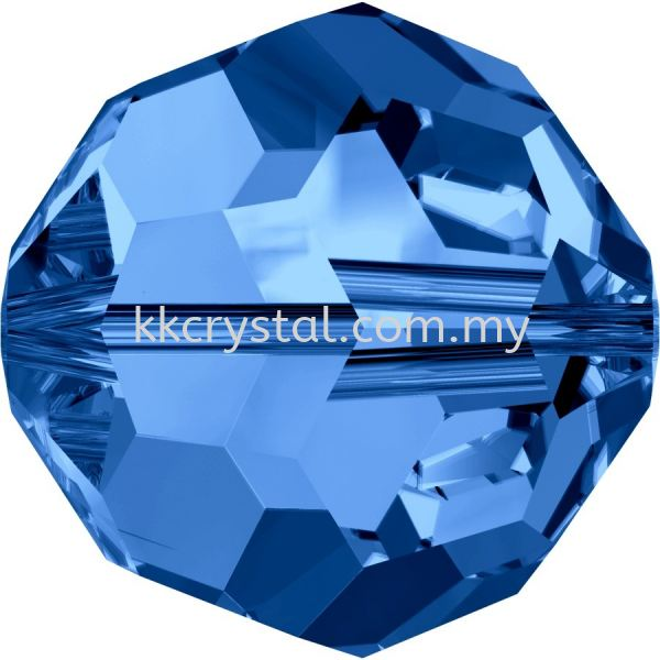 SW 5000 Round Beads, 10mm, Capri Blue (243), 2pcs/pack 5000 ROUND BEAD, 10mm  Beads  SW Crystal Collections  Kuala Lumpur (KL), Malaysia, Selangor, Klang, Kepong Wholesaler, Supplier, Supply, Supplies   K&K Crystal Sdn Bhd