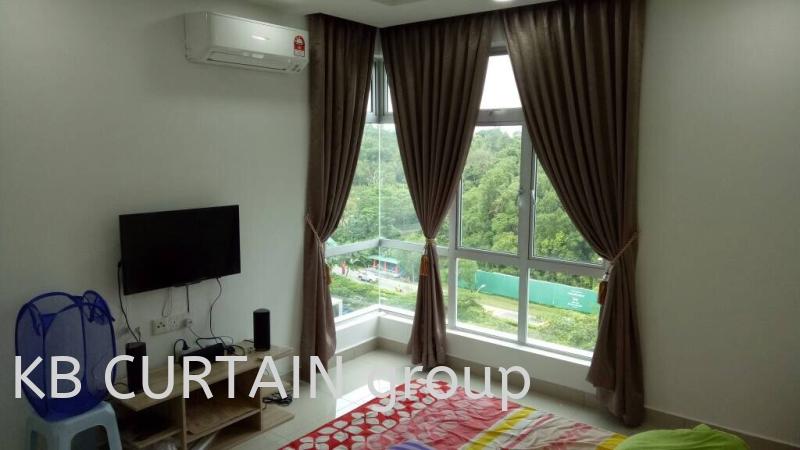 Sunshine Curtain Curtain Johor Bahru (JB), Skudai, Singapore Design, Supplier, Renovation | KB Curtain & Interior Decoration