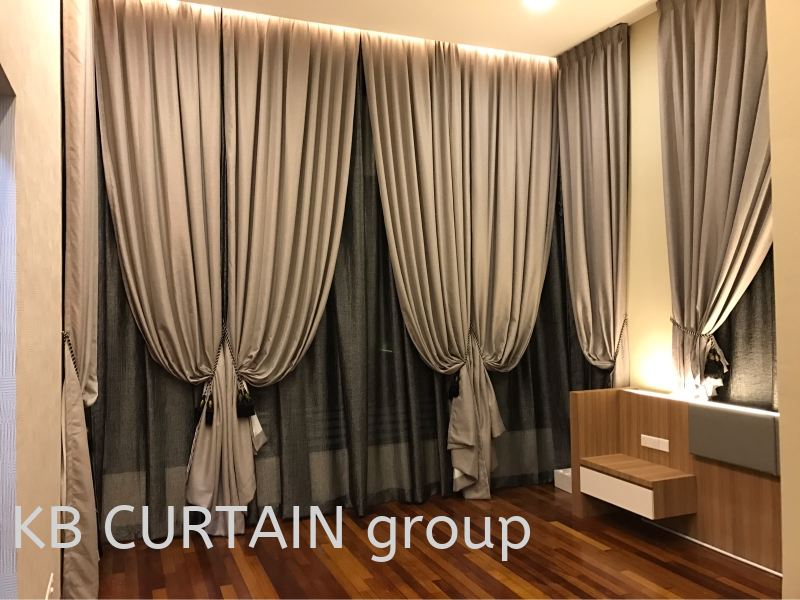 Sunshine Curtain Curtain Johor Bahru (JB), Skudai, Singapore Design, Supplier, Renovation | KB Curtain & Interior Decoration