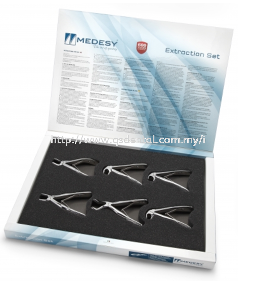 2600/SET Tooth Forceps Set for Children  Set Medesy Selangor, Malaysia, Kuala Lumpur (KL), Banting Supplier, Suppliers, Supply, Supplies   QS Dental Supply Sdn Bhd