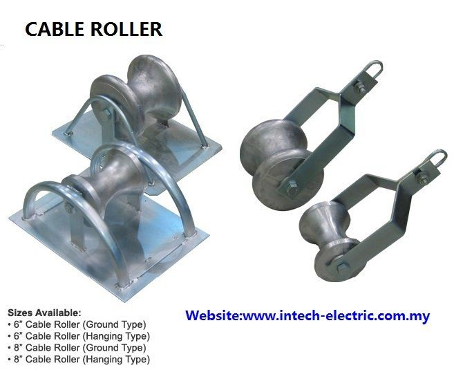 Cable Roller  Cable Jack & Conduit Bender  Cable Support Systems Johor Bahru (JB), Johor, Ulu Tiram, Malaysia Supplier, Suppliers, Supply, Supplies | Intech Electric Sdn Bhd