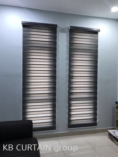 Zebra Blinds Blinds (Indoor) Johor Bahru (JB), Skudai, Singapore Design, Supplier, Renovation | KB Curtain & Interior Decoration