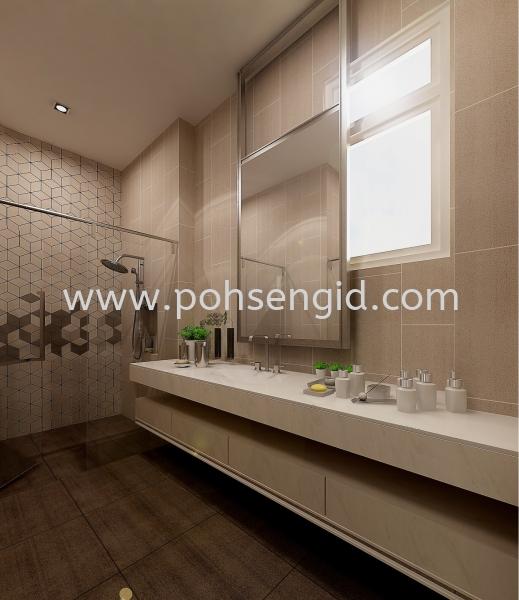 Bathroom Seremban, Negeri Sembilan (NS), Malaysia Renovation, Service, Interior Design, Supplier, Supply | Poh Seng Furniture & Interior Design