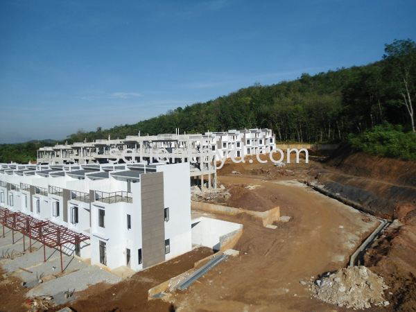 Bayan Parkhomes - In Progress Work Bayan ParkHomes On-Going Projects Kuala Lumpur, KL, Selangor, Malaysia. Developer, Constructor | Salient Pyramid Sdn Bhd