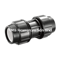 PP Straight Coupler PP Compression Fitting Water Distribution Perak, Malaysia, Ipoh Supplier, Suppliers, Supply, Supplies   KMB Resources Sdn Bhd