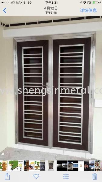 Both Side Open Door Stainless Steel Johor Bahru, JB, Skudai, 仟表 Design, Installation, Supply | Sheng Sin Metal Work & Enterprise