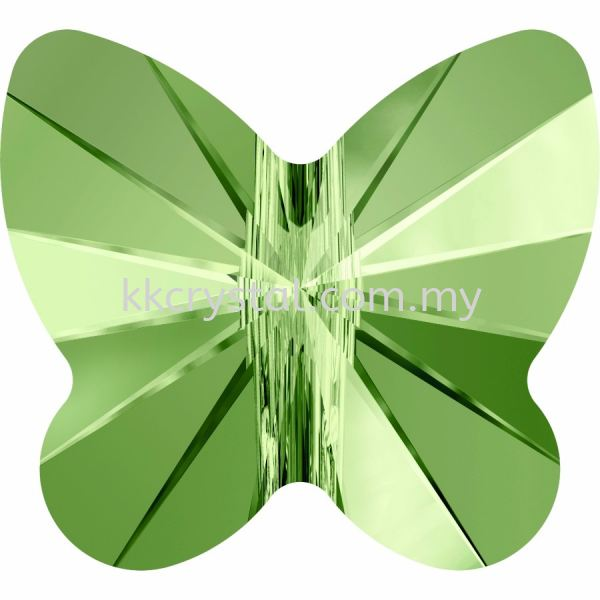 SW 5754 Butterfly Bead, 8mm, Peridot (214), 4pcs/pack 5754 BUTTERFLY BEAD, 08MM Beads  SW Crystal Collections  Kuala Lumpur (KL), Malaysia, Selangor, Klang, Kepong Wholesaler, Supplier, Supply, Supplies   K&K Crystal Sdn Bhd