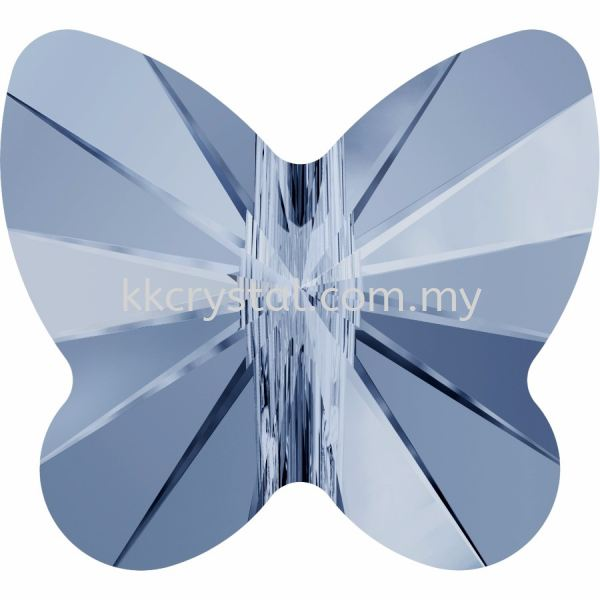 SW 5754 Butterfly Bead, 8mm, Denim Blue (266), 4pcs/pack 5754 BUTTERFLY BEAD, 08MM Beads  SW Crystal Collections  Kuala Lumpur (KL), Malaysia, Selangor, Klang, Kepong Wholesaler, Supplier, Supply, Supplies | K&K Crystal Sdn Bhd