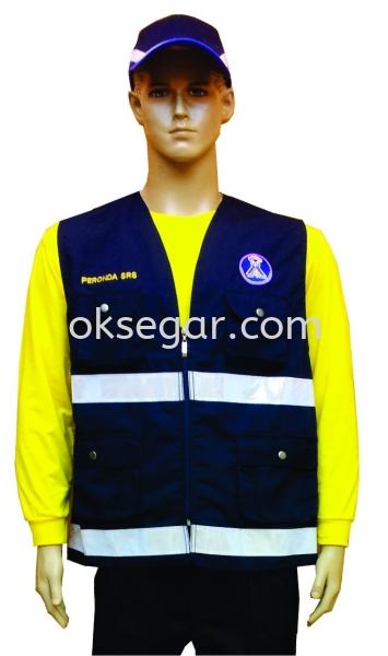 Factory Vest Factory Uniform Malaysia, Kuala Lumpur (KL), Selangor, Ampang Manufacturer, Supplier, Supply, Supplies   OK Segar Sdn Bhd