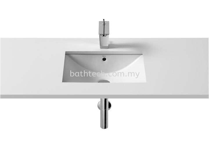 Roca Diverta Above Counter Wash Basin 50 x38cm (A327114000) Roca  Undercounter Basins Basins Johor Jaya, Johor Bahru (JB), Johor. Supplier, Suppliers, Supply, Supplies | Bathtech Building Products Sdn Bhd