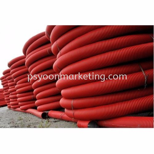100mm x 6m HDPE Corrugated Cable Pipes Electrical Pipes Kuala Lumpur (KL), Malaysia, Selangor Supplier, Suppliers, Supply, Supplies | PS YOON Marketing Sdn Bhd