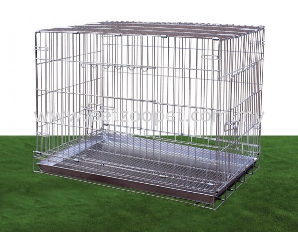 S108-1 Stainless Steel Dog Cage Pet Cage Malaysia, Selangor, Kuala Lumpur (KL), Shah Alam Supplier, Wholesaler, Exporter, Supply | Starcage Pet Products Sdn Bhd