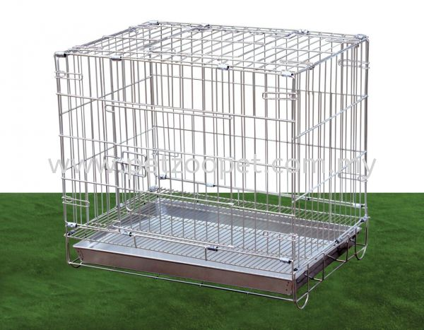 S103 Stainless Steel Dog Cage Pet Cage   Supplier, Wholesaler, Exporter, Supply | Starcage Pet Products Sdn Bhd
