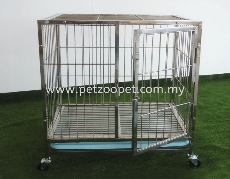 PC601 Stainless Steel Dog Cage Pet Cage Malaysia, Selangor, Kuala Lumpur (KL), Shah Alam Supplier, Wholesaler, Exporter, Supply   Starcage Pet Products Sdn Bhd